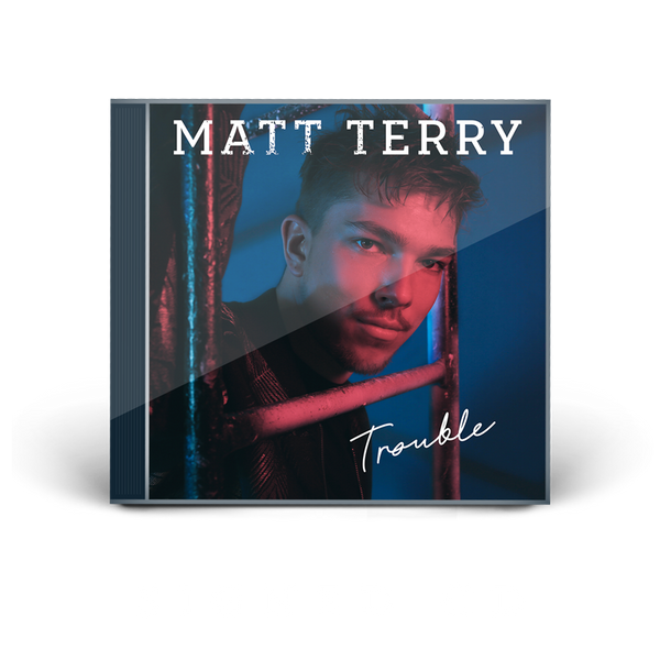 MATT TERRY - TROUBLE SIGNED CD