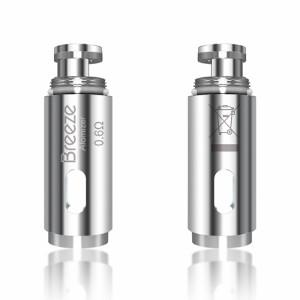 Aspire Breeze Atomizer 0.6ohm Coils - AccessVape.com