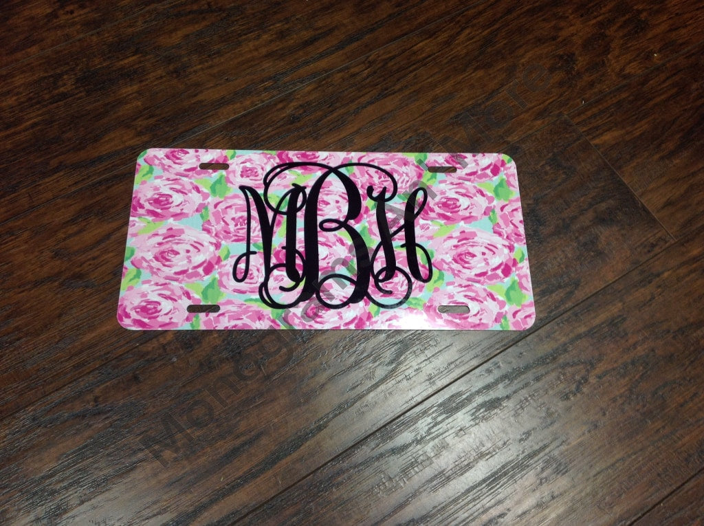 Lilly Rose Inspired Printed Car Tag Ladies