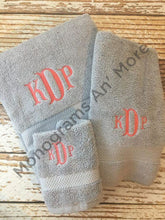Monogram Bath Towel Set For The Home