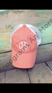 Monogram Mesh Back Hat Ladies