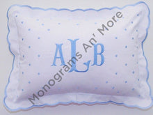 Scallop Top Baby Pillow