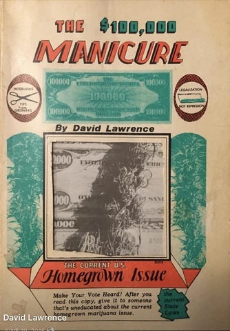 THE $100,000 MANICURE vintage book (1978)