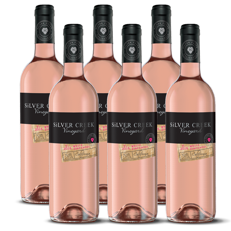 White Zinfandel - 6 Pack