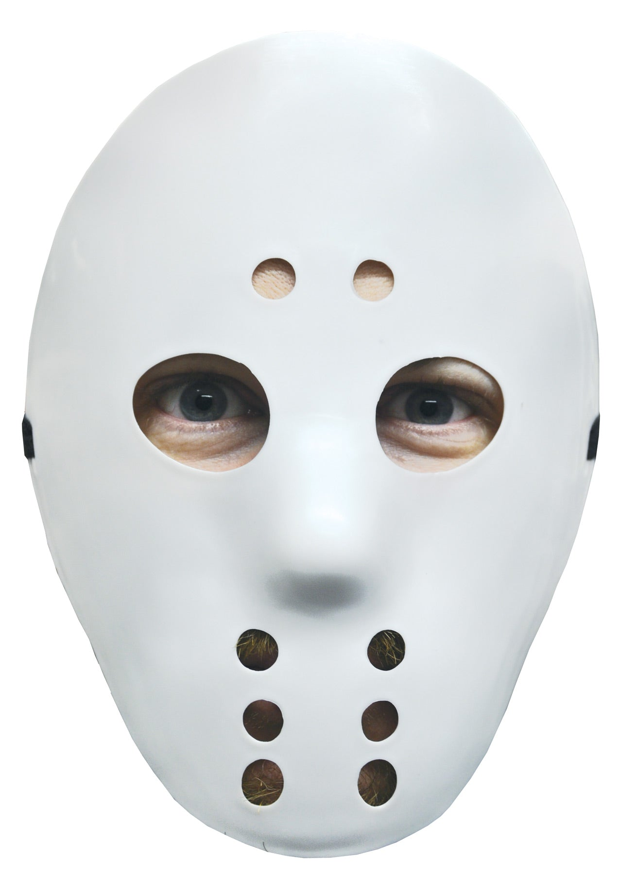 Hockey Mask / (White / Black / Glow)