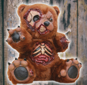 undead plush bad teddy bear halloween decoration