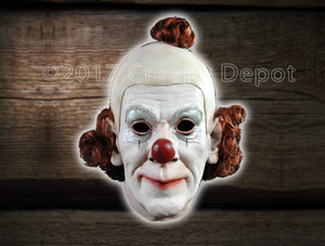 Creepy Circus Clown Mask