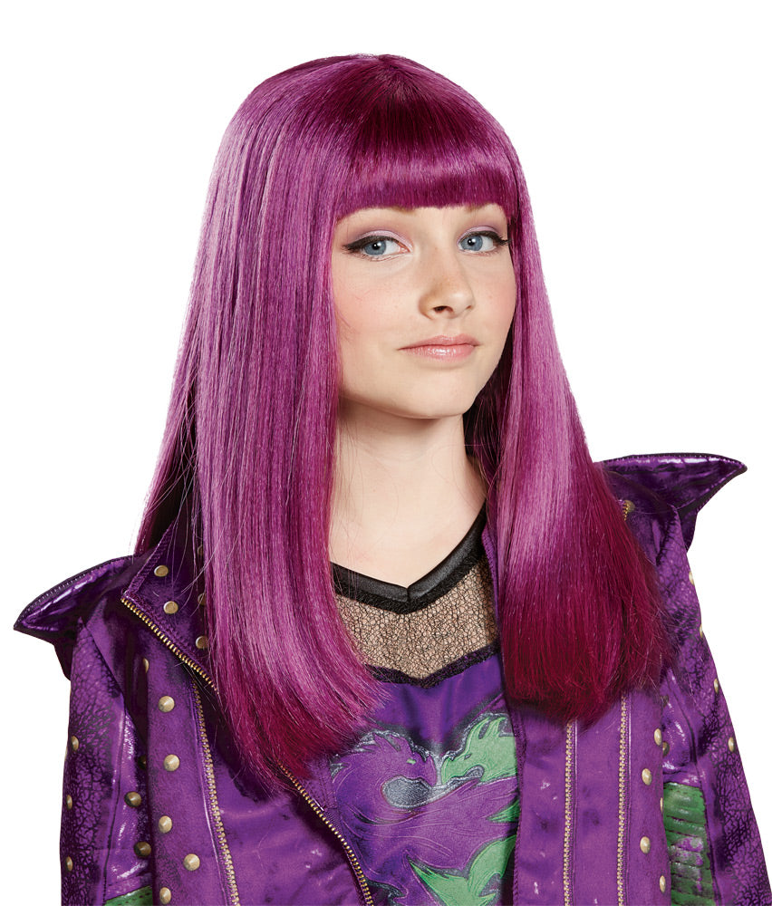 Descendants 2 Mal Wig Disney