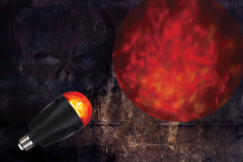 Fire and Ice Projection Bulb (Red)