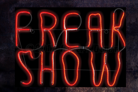 Freak Show neon / LED sign - NEW