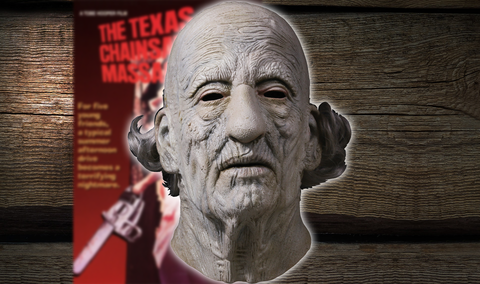 Texas Chainsaw Massacre - Grandpa Mask 1974 / NEW