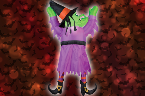 Inflatable Crash Witch