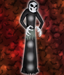 Inflatable Halloween Prop Wicked Reaper 12 Foot Tall