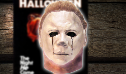 Halloween II Michael Myers Blood Mask