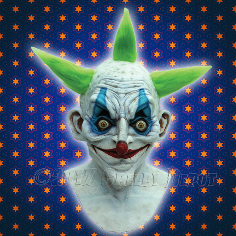 Old Clown Halloween Mask