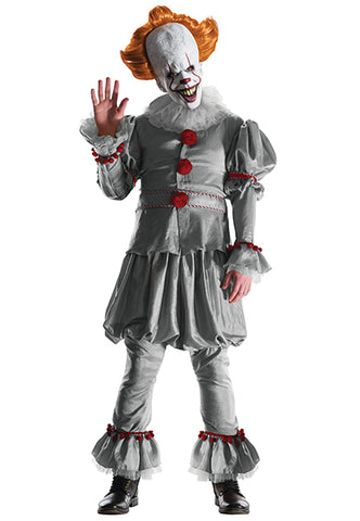 Pennywise Adult Costume with mask