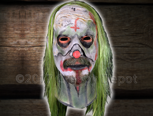 Rob Zombie Halloween Clown Mask.Rob Zombie 31 Psycho Mask