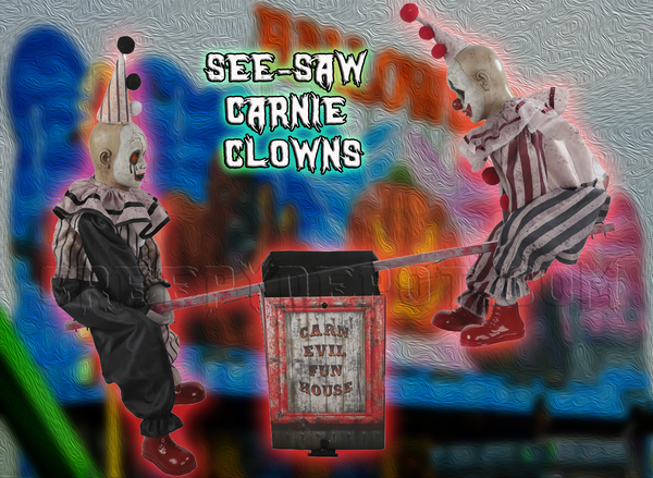 See Saw Carnival Clowns