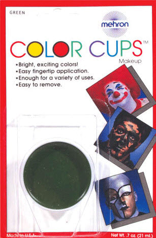 Mehron Green Color Cup