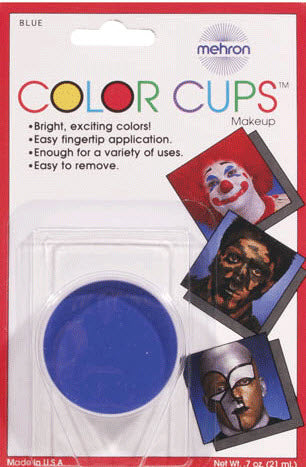 Mehron Blue Makeup Cup