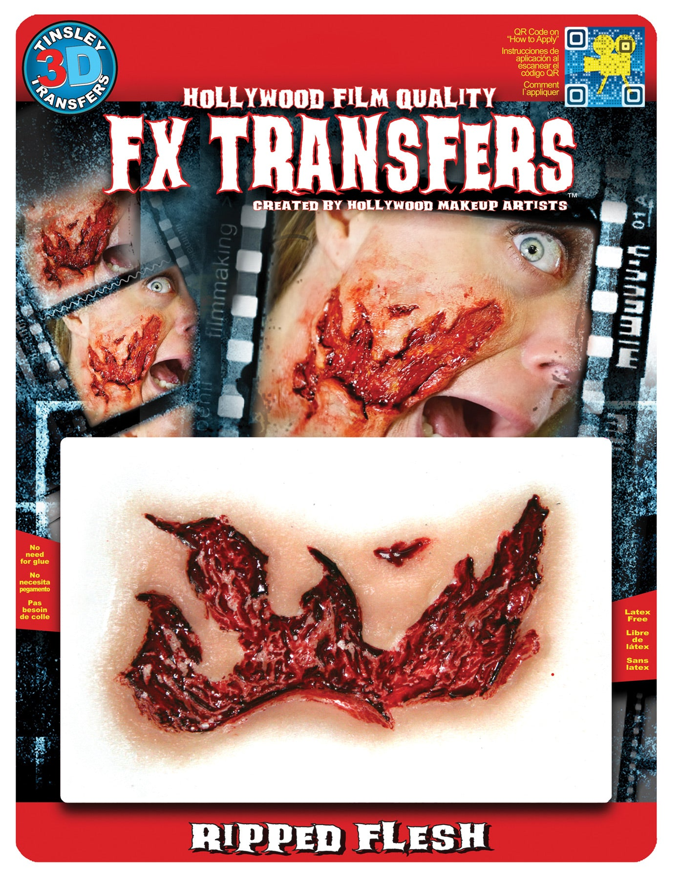 tinsley fx ripped flesh effect