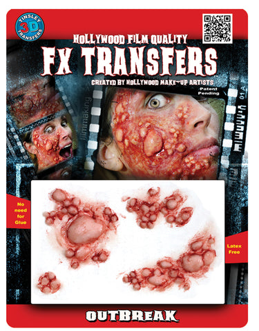 tinsley fx transfers outbreak make up effect
