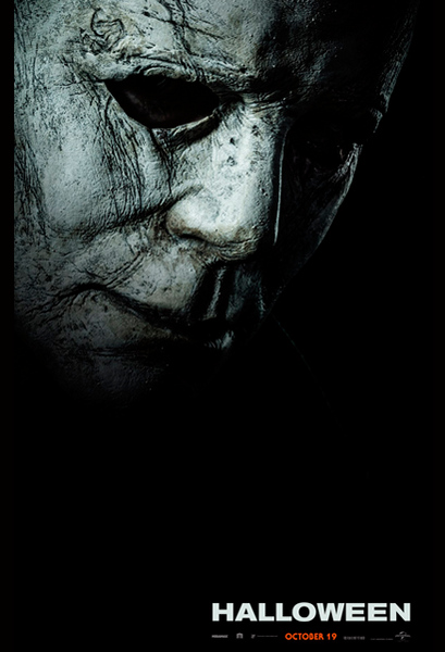 Halloween 2018 Movie Poster Michael Myers Mask