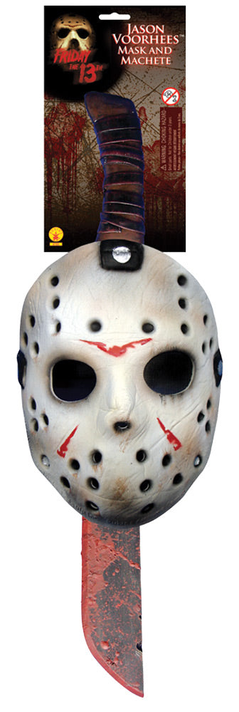 Jason Mask and Machete Kit