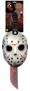 Jason Mask and Machete Kit (FREE SHIPPING)
