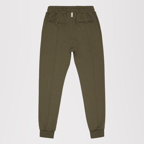 PRÉVU CORE COMBED COTTON JOGGERS OLIVE