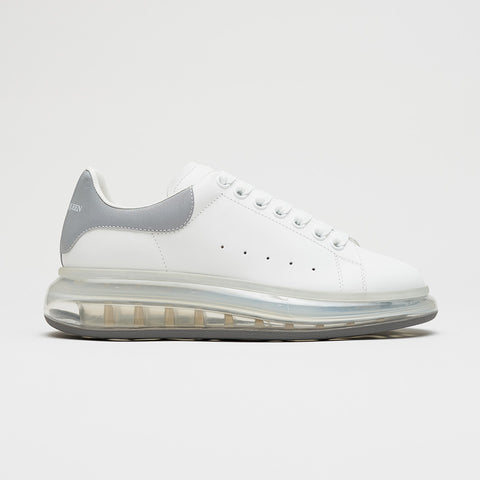 ALEXANDER MCQUEEN BUBBLE SOLE LOW TOP SNEAKER SILVER TAB