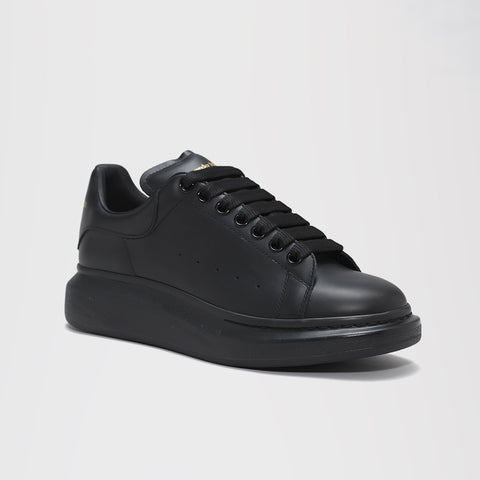 ALEXANDER MCQUEEN RAISED SOLE LOW TOP SNEAKER BLACK