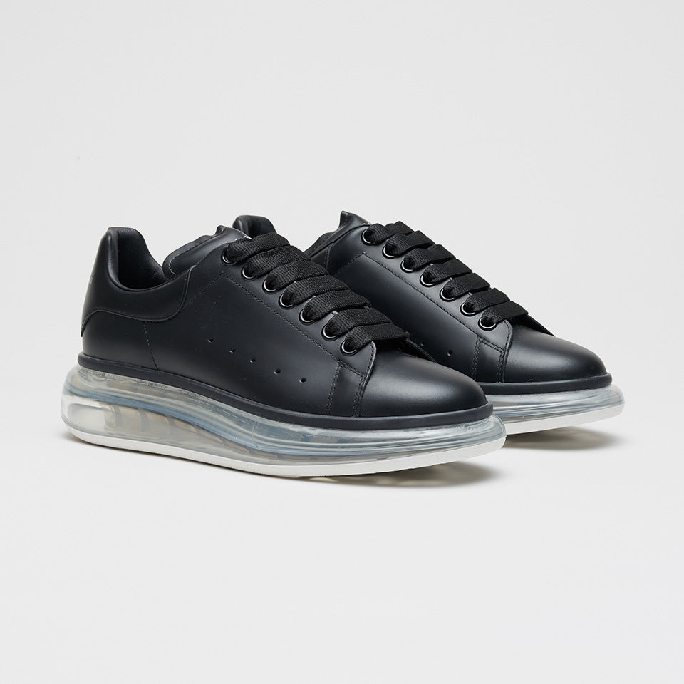 ALEXANDER MCQUEEN BUBBLE SOLE LOW TOP SNEAKER BLACK