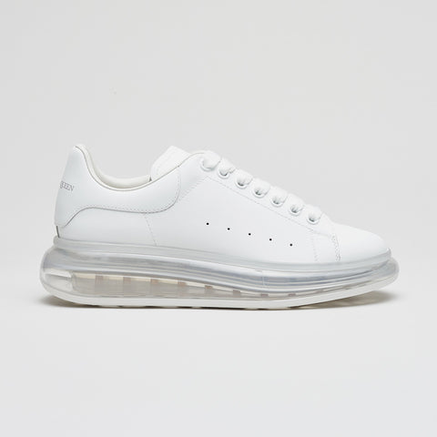 ALEXANDER MCQUEEN BUBBLE SOLE LOW TOP SNEAKER WHITE