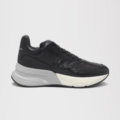 ALEXANDER MCQUEEN OVERSIZED RUNNER SNEAKERS BLACK/GREY