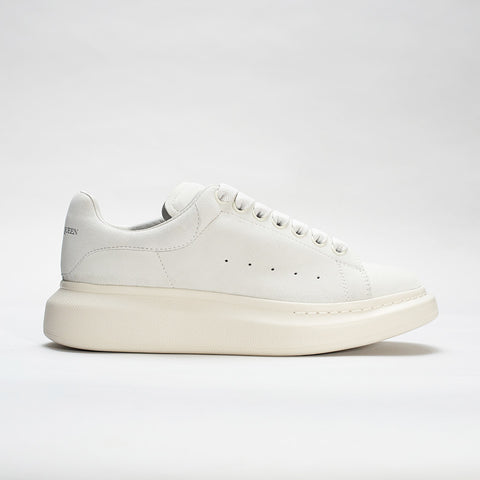 ALEXANDER MCQUEEN RAISED SOLE LOW TOP SNEAKER OFF-WHITE