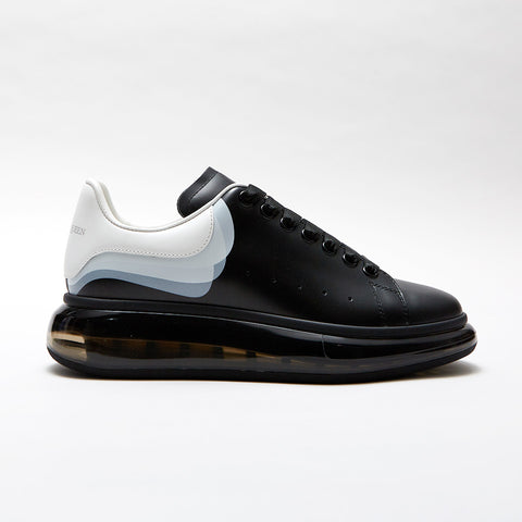 ALEXANDER MCQUEEN OVERSIZED SOLE LOW TOP SNEAKER BLACK