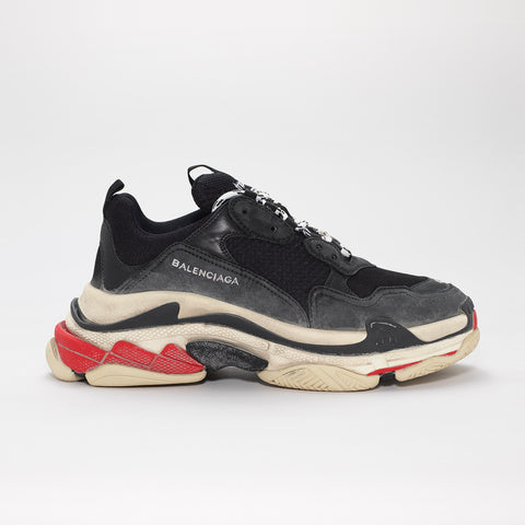 BALENCIAGA TRIPLE S BLACK