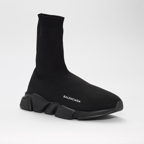 BALENCIAGA SPEED TRAINER LONG BLACK/BLACK