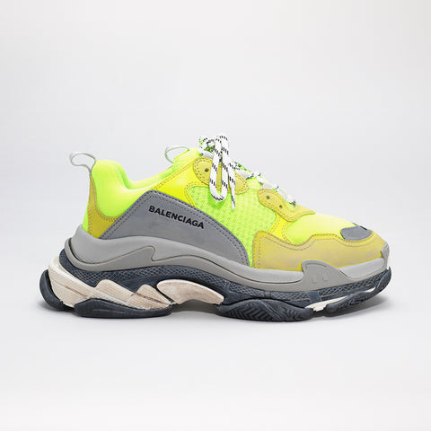 BALENCIAGA TRIPLE S FLUO YELLOW