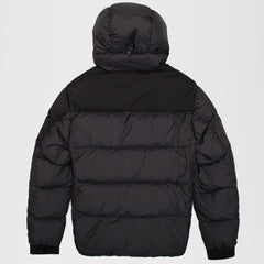 CP COMPANY TAYLON L HOODED LENS JACKET BLACK