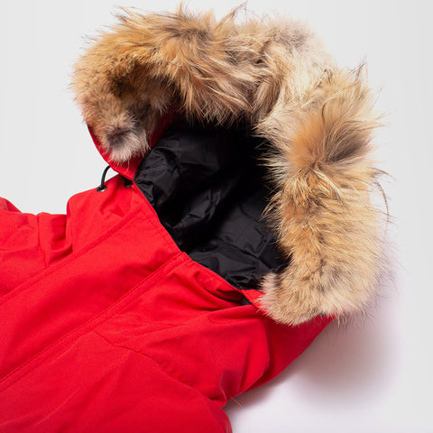 CANADA GOOSE EXPEDITION PARKA FUSION FIT RED