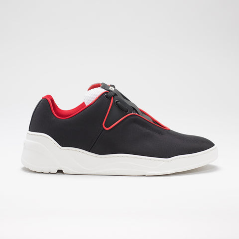 DIOR HOMME CANVAS RUNNER BLACK/RED