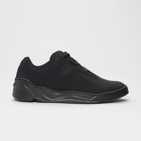 DIOR HOMME CANVAS RUNNER TRIPLE BLACK