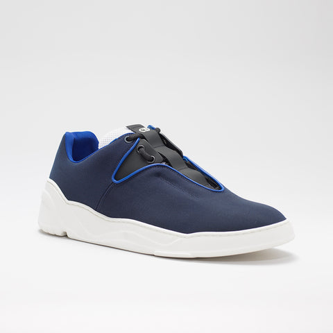 DIOR HOMME CANVAS RUNNER BLUE/BLACK