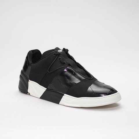 "DIOR HOMME CANVAS RUNNER WITH ""ADHESIVE TAPE"" EFFECT"