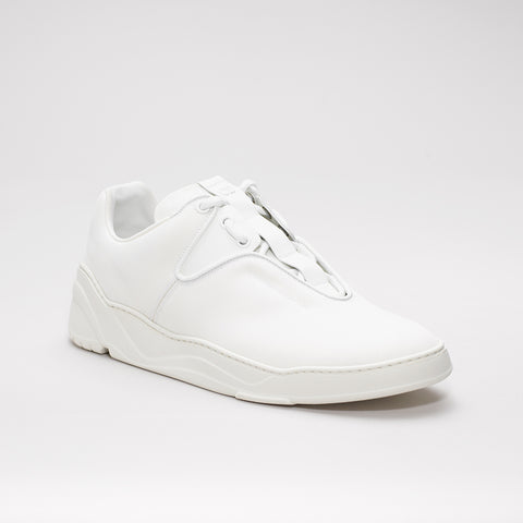 DIOR HOMME CANVAS RUNNER TRIPLE WHITE