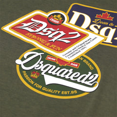 DSQUARED2 DSQ2 T-SHIRT GREEN