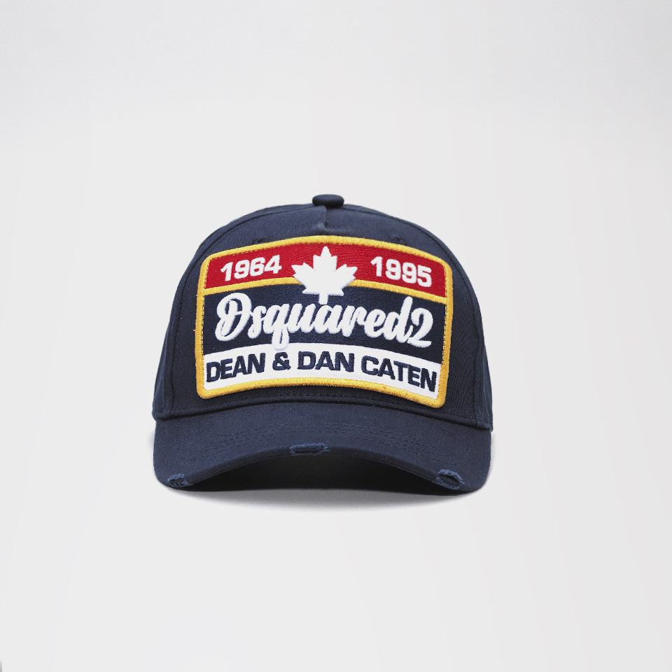 c80bca725064c DSQUARED2 LOGO PATCH BASEBALL CAP – Mr Trendz
