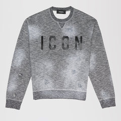 DSQUARED2 ICON SWEATSHIRT GREY